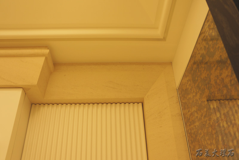 客厅门框大理石图片